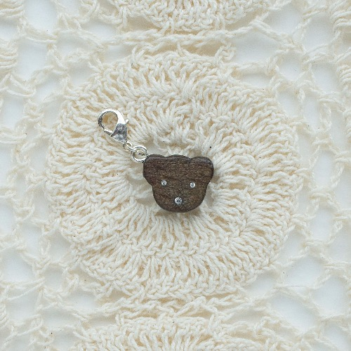 【Honeywood】木製吊飾 》》小熊。吊飾