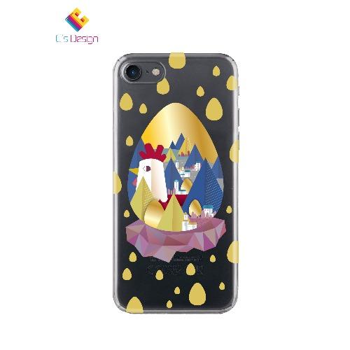 全蛋與小雞 iPhone 5 6 7 手機殼 cases
