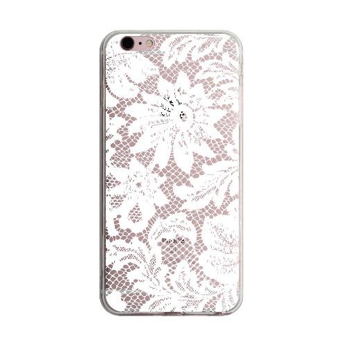 白色Lace iPhone 5 6 7 手機殼 cases
