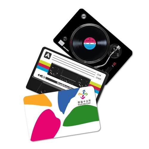 防水悠遊卡貼紙-音樂設計款(共8款)卡貼 一卡通