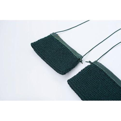 Size C 中尺寸 織袋 (綠色)