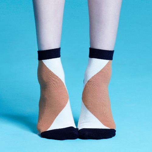 棉襪-女生襪子-簡約襪子-短襪