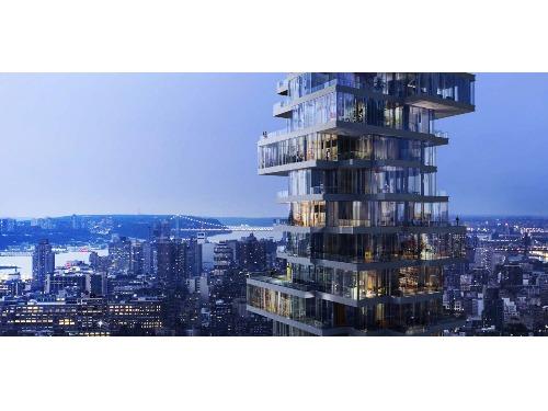 紐約60層高的「層層疊」大樓