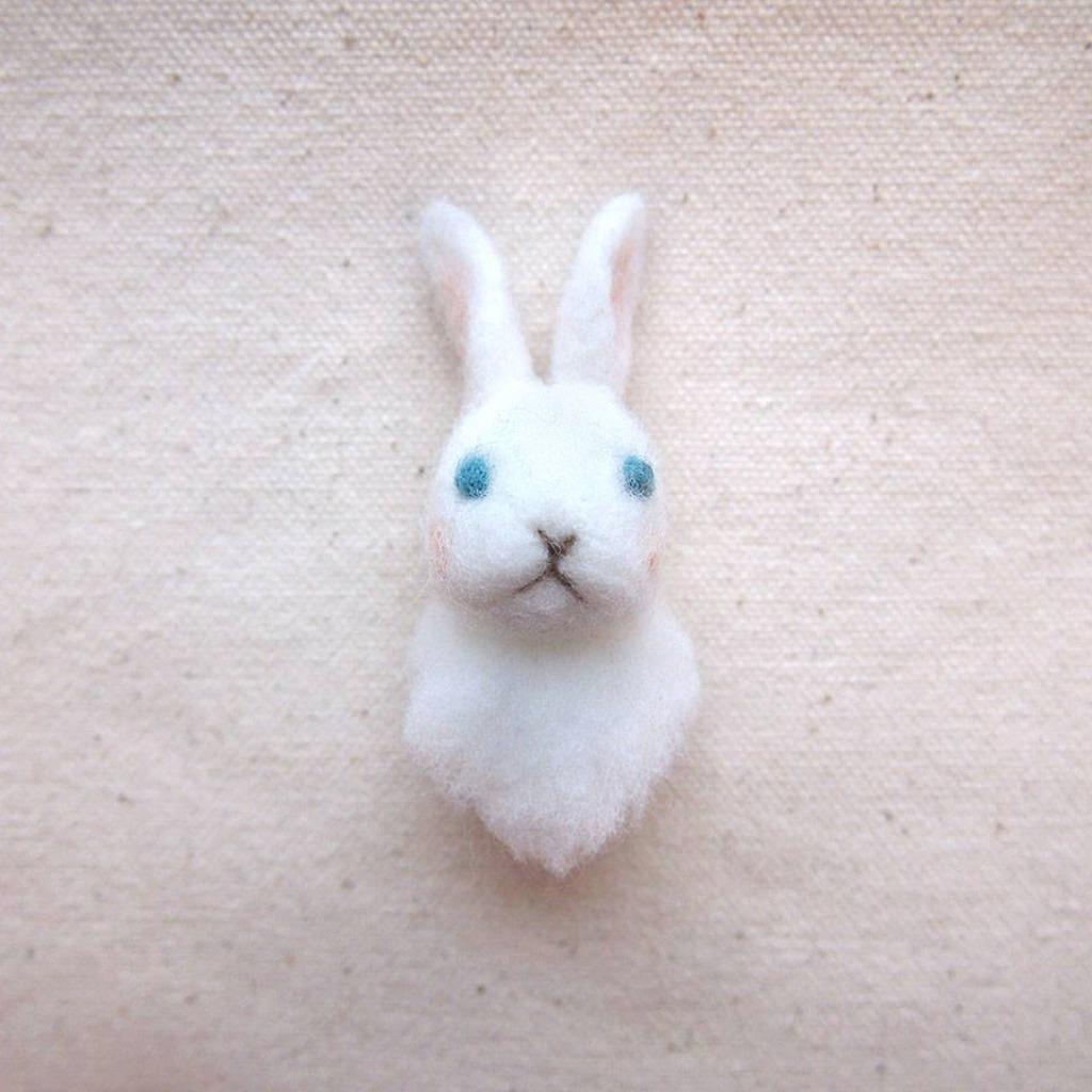 小兔子 胸針