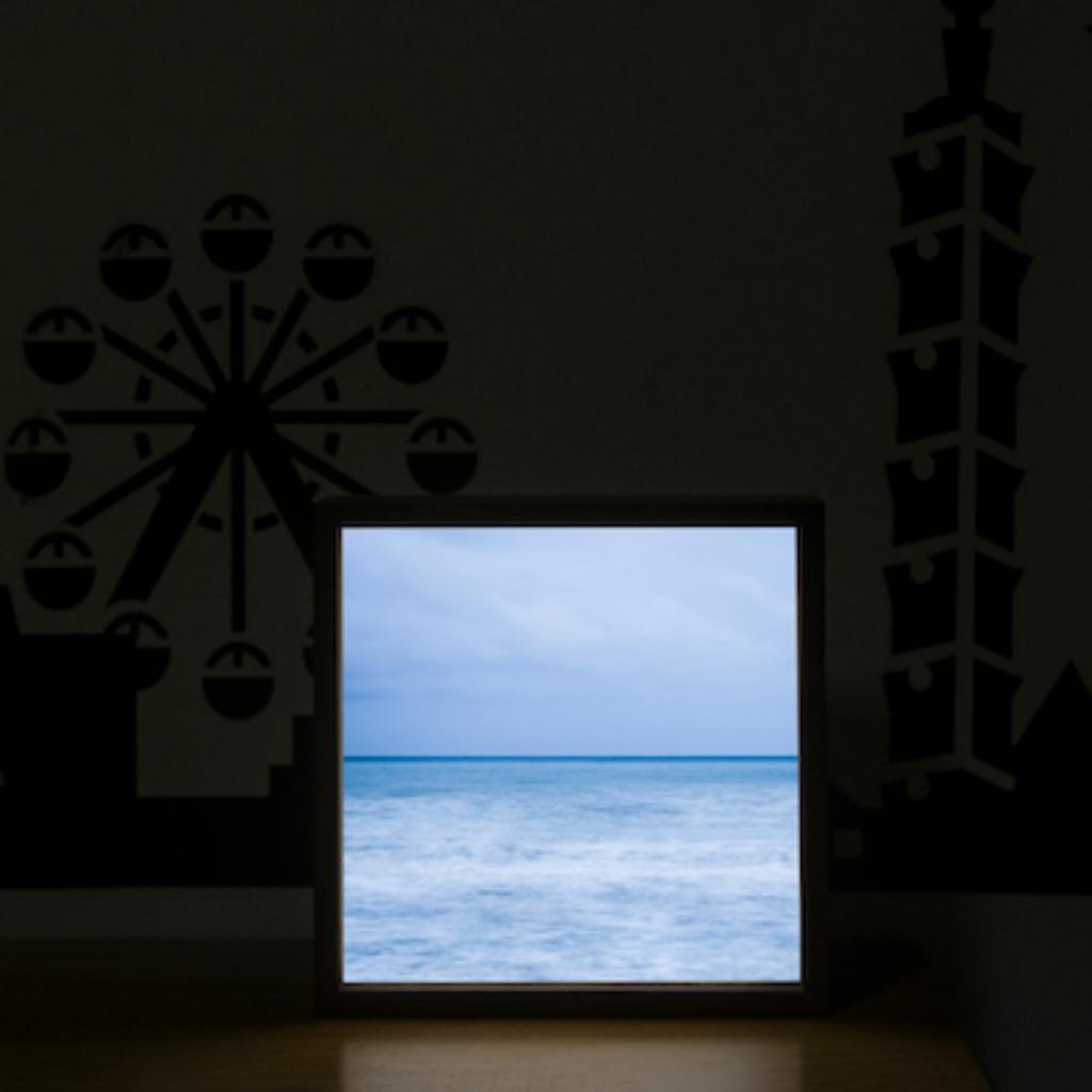 Lighto光印樣|Mini燈箱| 淡藍色啤酒海(aPo)