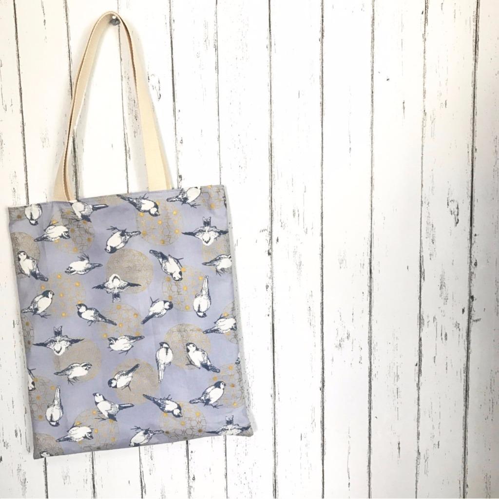 麻雀Tote Bag 單背包