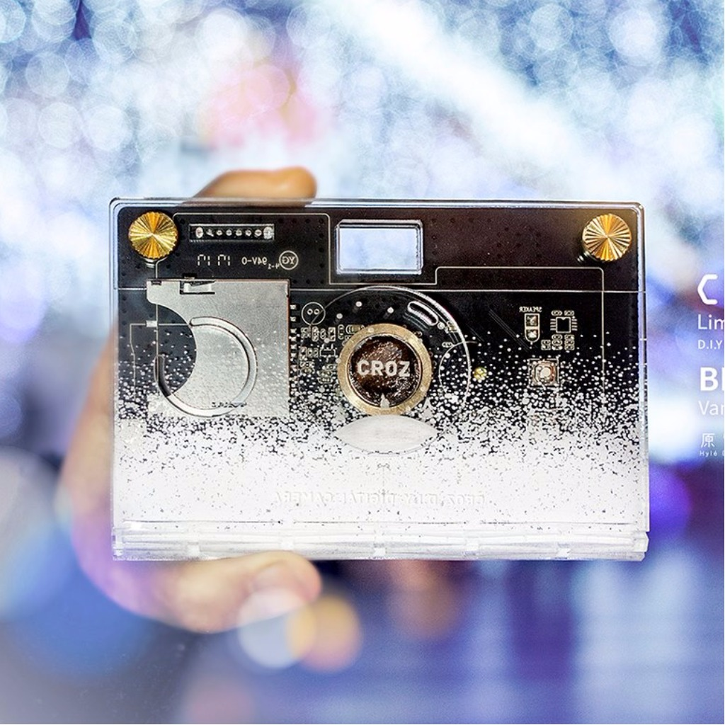 X-mas 限量版-CROZ D.I.Y Digital Camera (冬雪系列 Blanc X Vanguard )