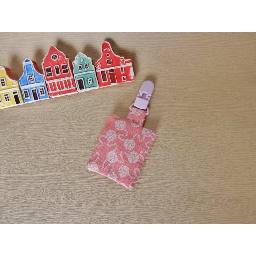 粉紅毛線球/平安福袋
