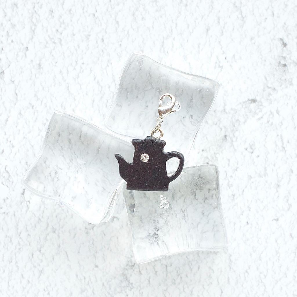 【Honeywood】木製吊飾 》》茶壺 。吊飾