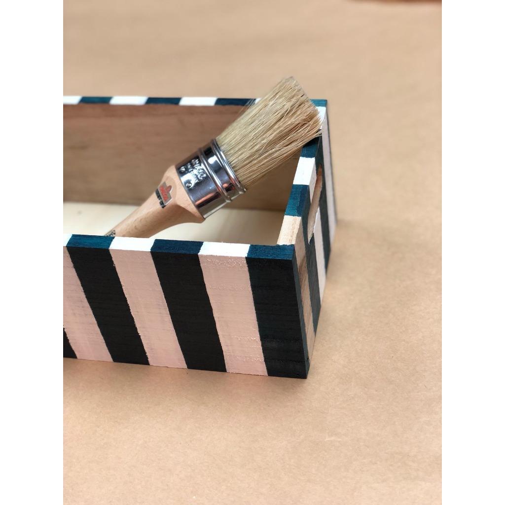 藍白色小箱