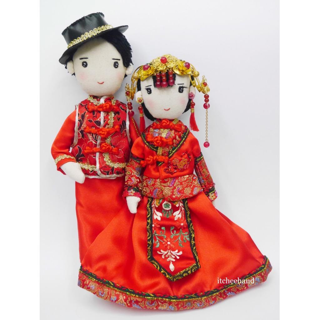 手工传统结婚对偶