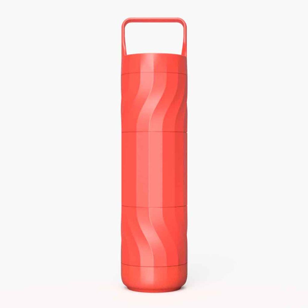 Wattle | 個人化水壺-468ml(夕陽紅x1)