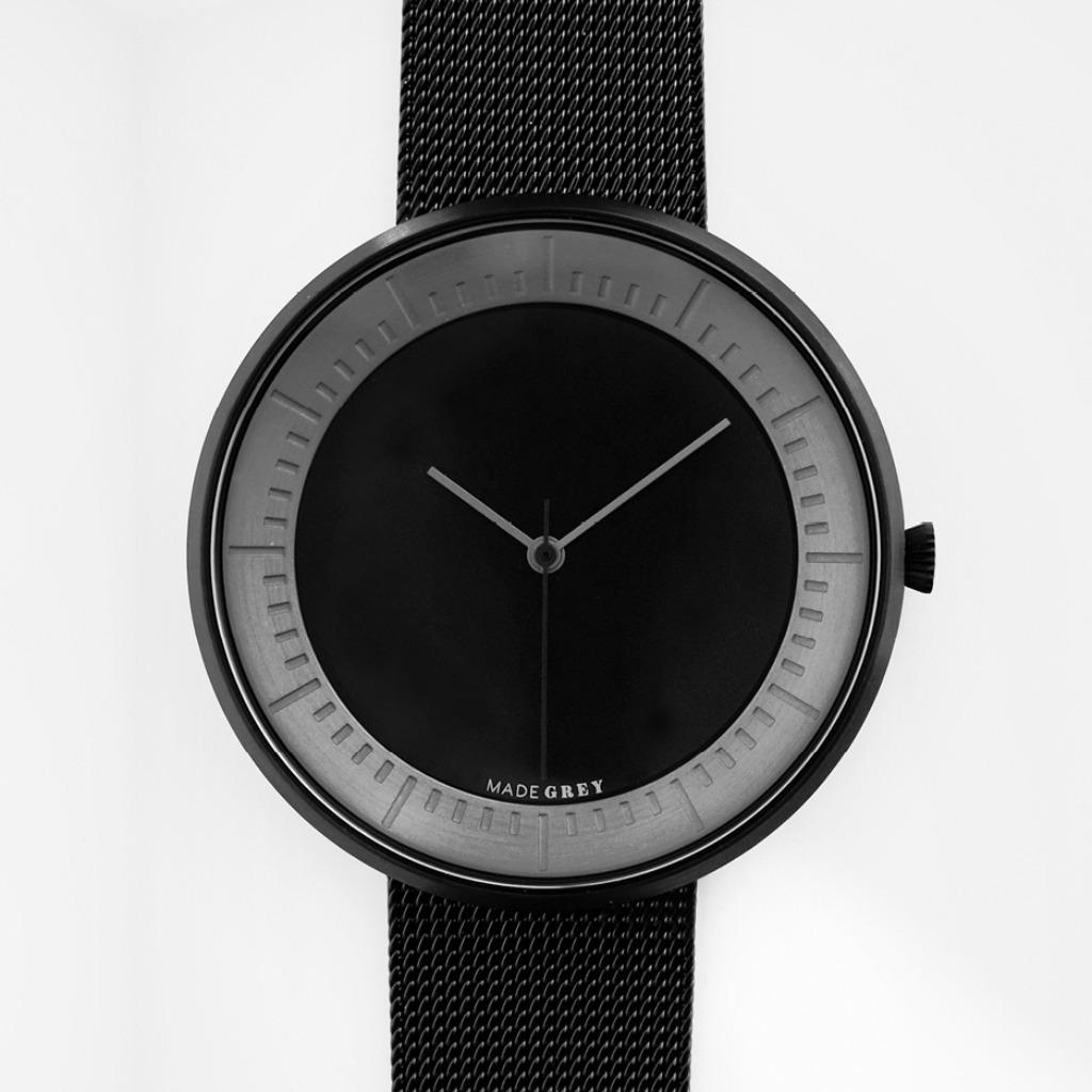 黑色 x 灰色MG003 max | 鋼帶