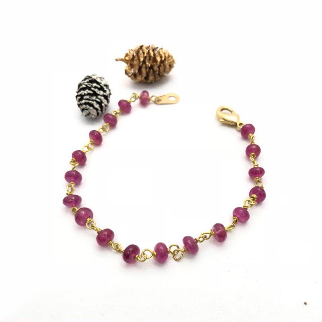 黃銅手鍊/蔓越莓果醬