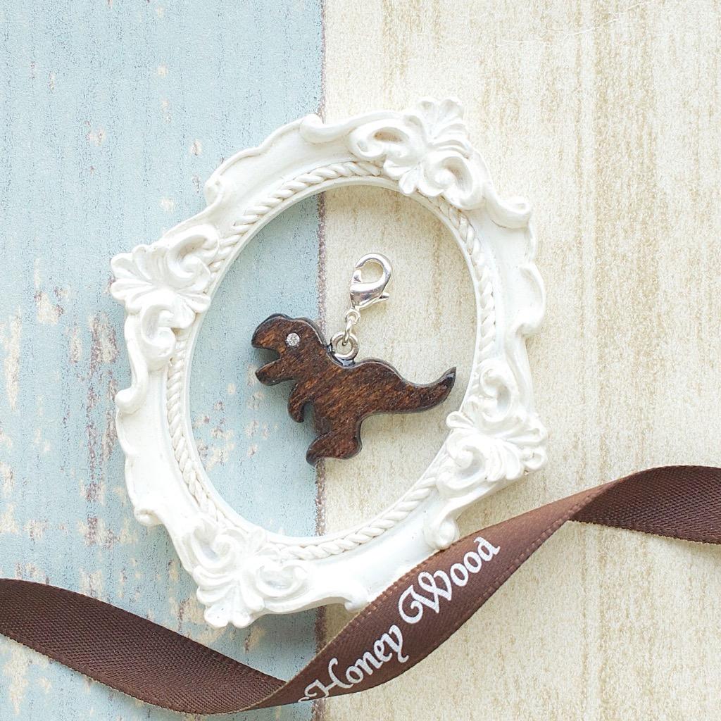 【Honeywood】木製吊飾 》》速龍 。吊飾