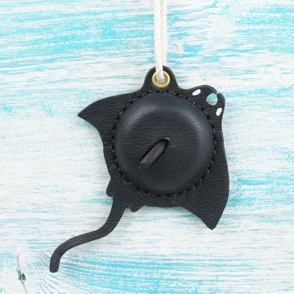 【海洋行李吊牌】手工製作皮件--魔鬼魟行李吊牌