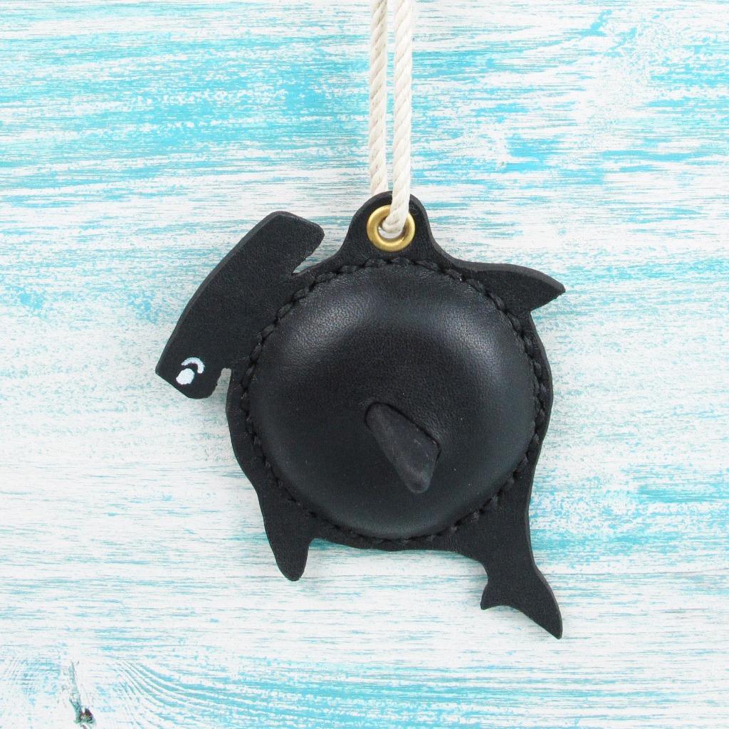 【海洋行李吊牌】手工製作皮件--鎚頭鯊行李吊牌