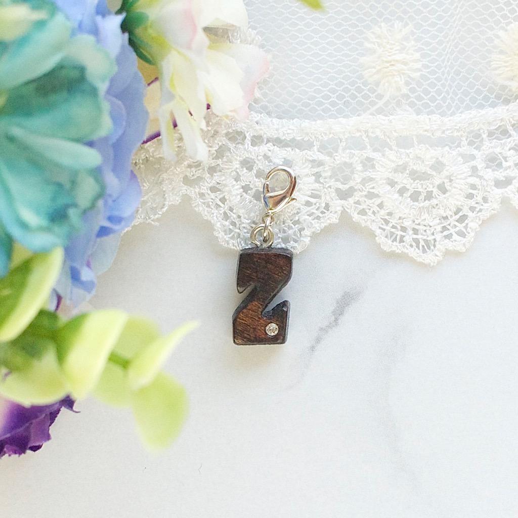 【Honeywood】木製吊飾 》》英文字母 ** Z ** 。吊飾