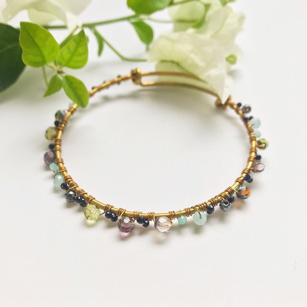 黃銅復古手環