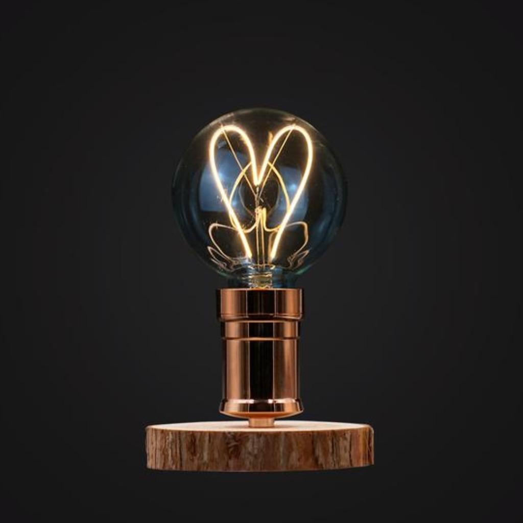 心形LED燈泡木枱燈