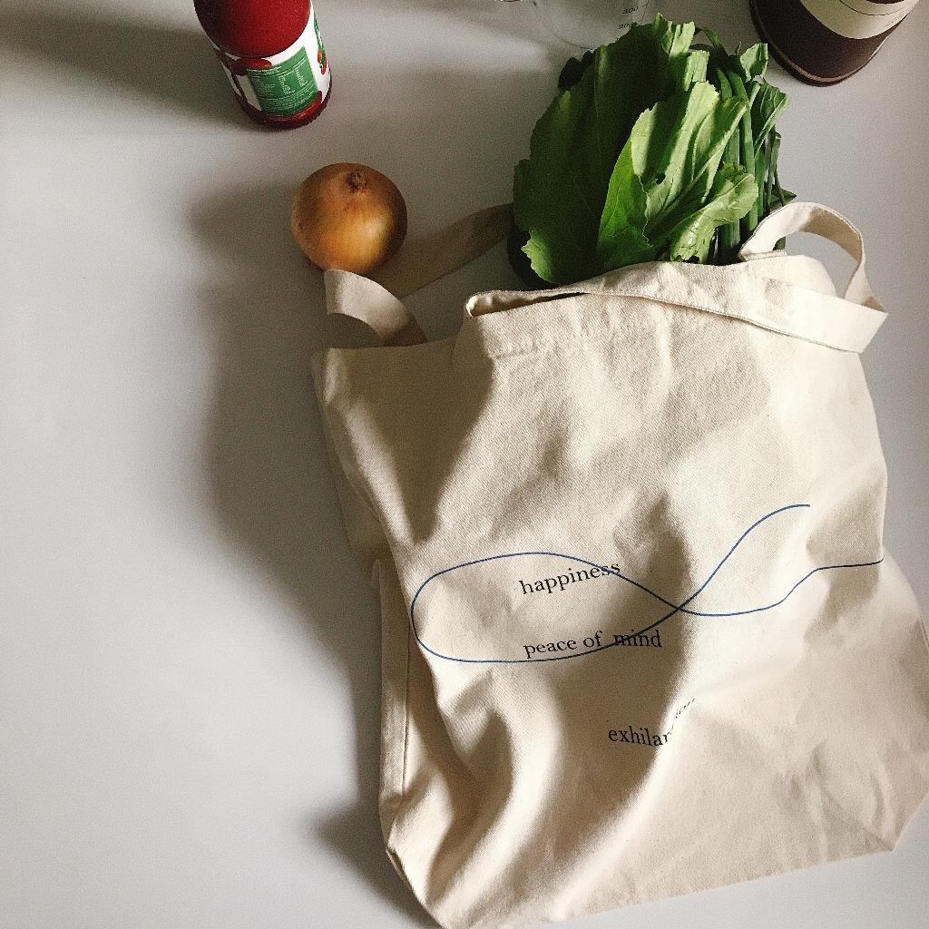 簡約設計手提袋 - Quotes collection - 香港設計