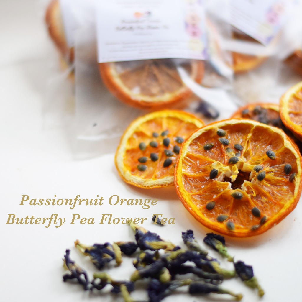 熱情果香橙蝶豆花茶 Passionfruit Orange Butterfly Pea Flower Tea
