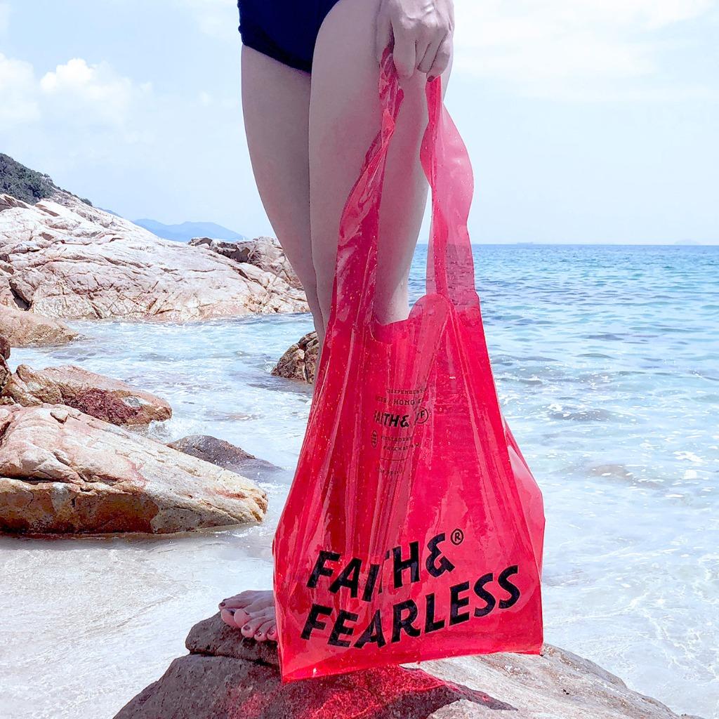 FF-PVC PolyBag 袋(RED紅色)