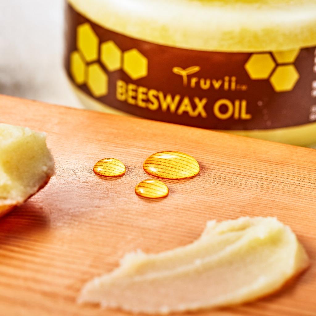 Truvii 蜂蠟油  (木材保養品)(250g)