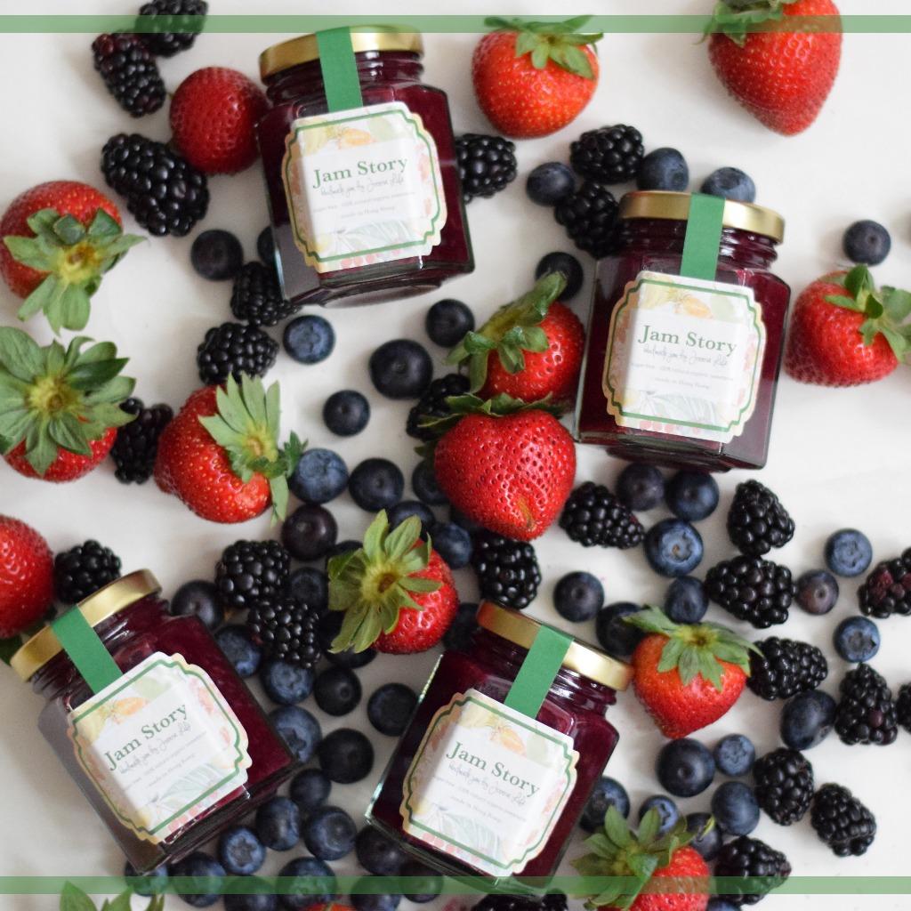 無糖雜莓果醬 Sugar free Mixed Berries Jam (100g)