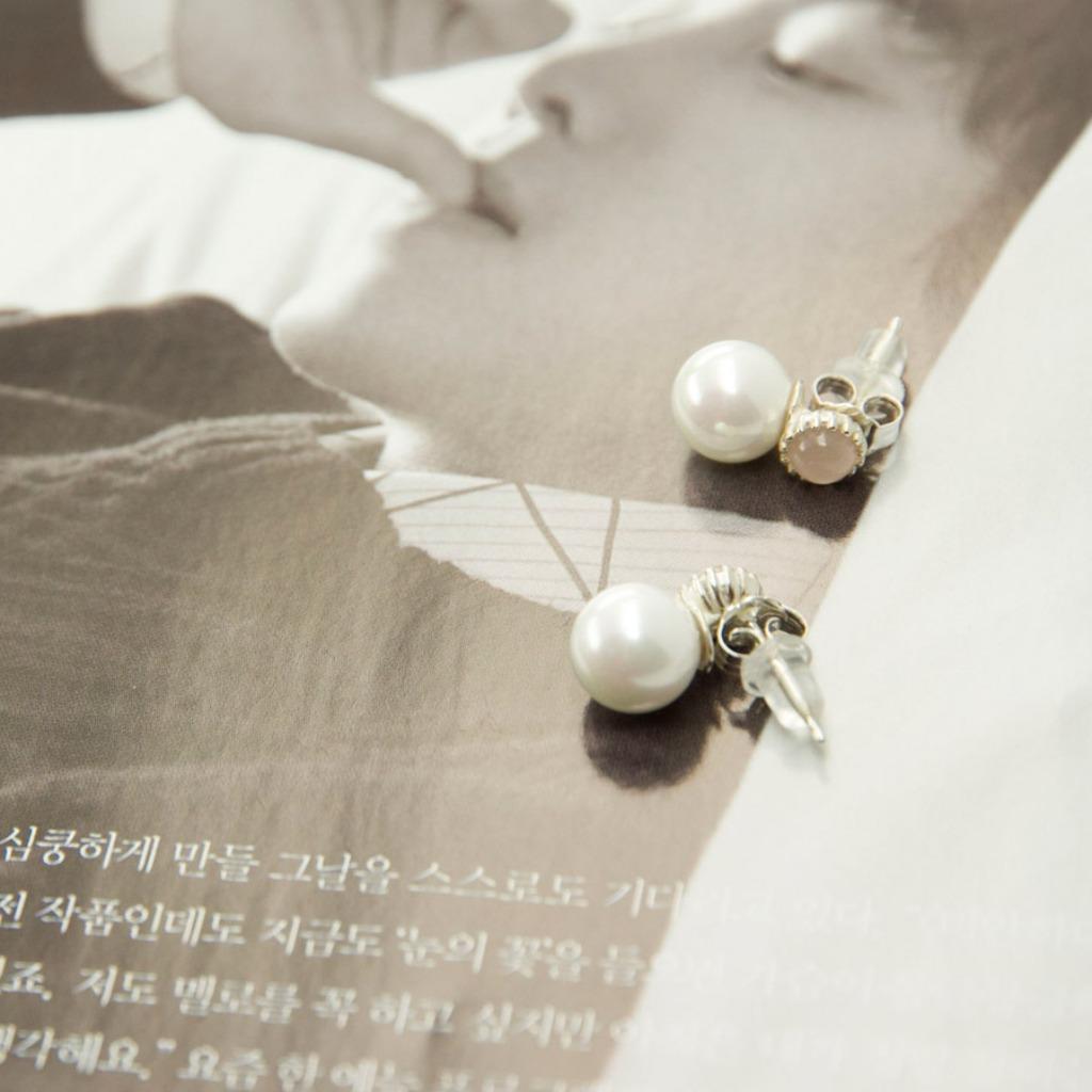 輕奢全純銀飾系列 -施華洛世奇水晶與水晶珍珠耳飾
