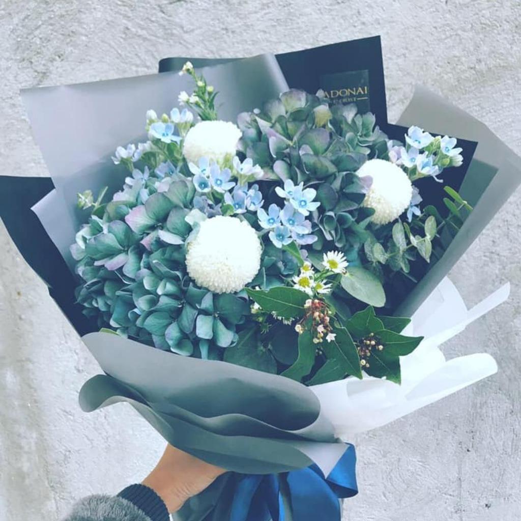 Valentines Day - Blue Star Bouquet