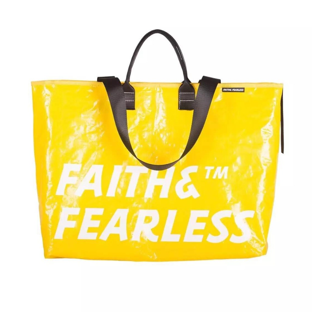 Faith & Fearless Pop Bag 袋_檸檬色
