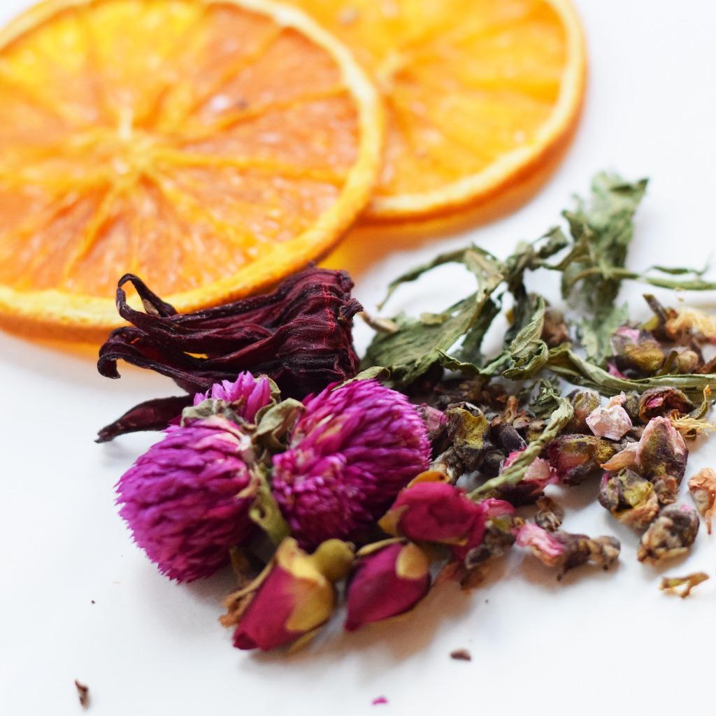香橙花茶 Orange Floral Tea