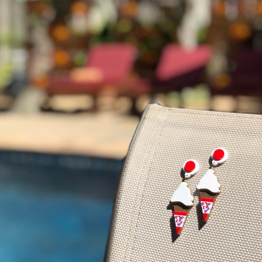 自創 品牌 香港雪糕耳環