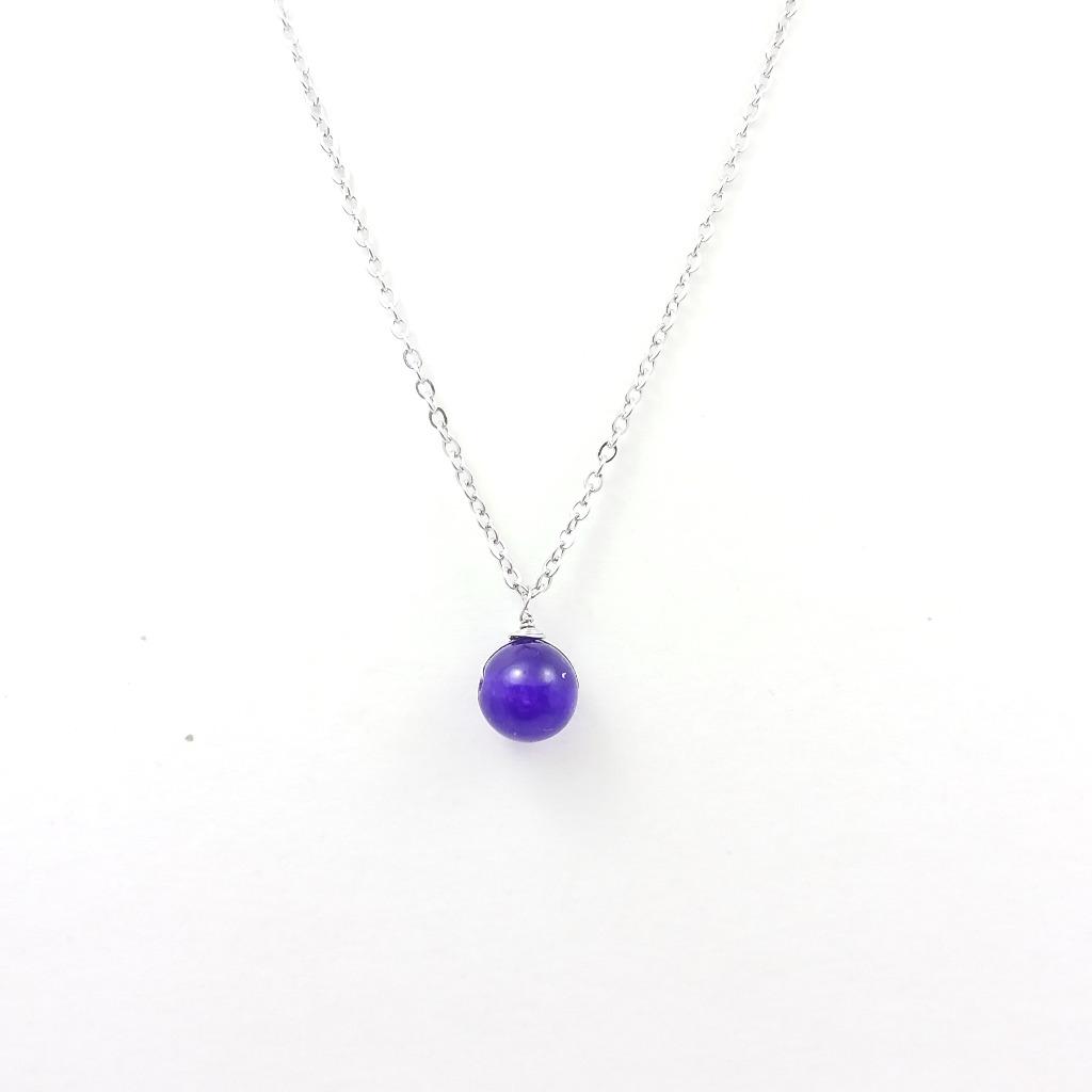 ~生日石系列~ 二月 {紫水晶} ~ 誕生石心意卡套裝