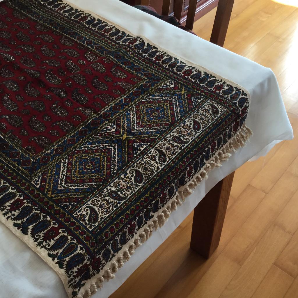 [W Home] 手印桌布 紅