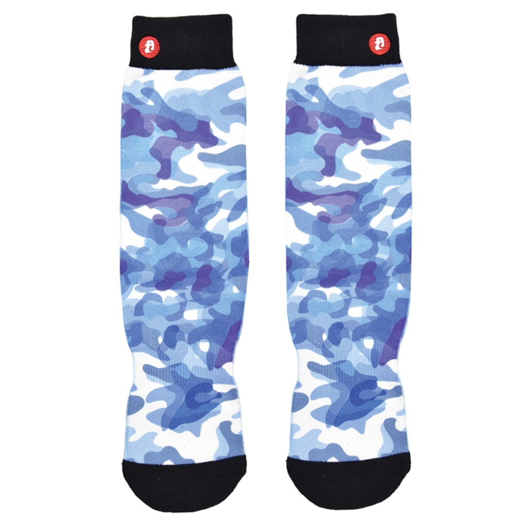 Abstract Blue Camouflage S/M