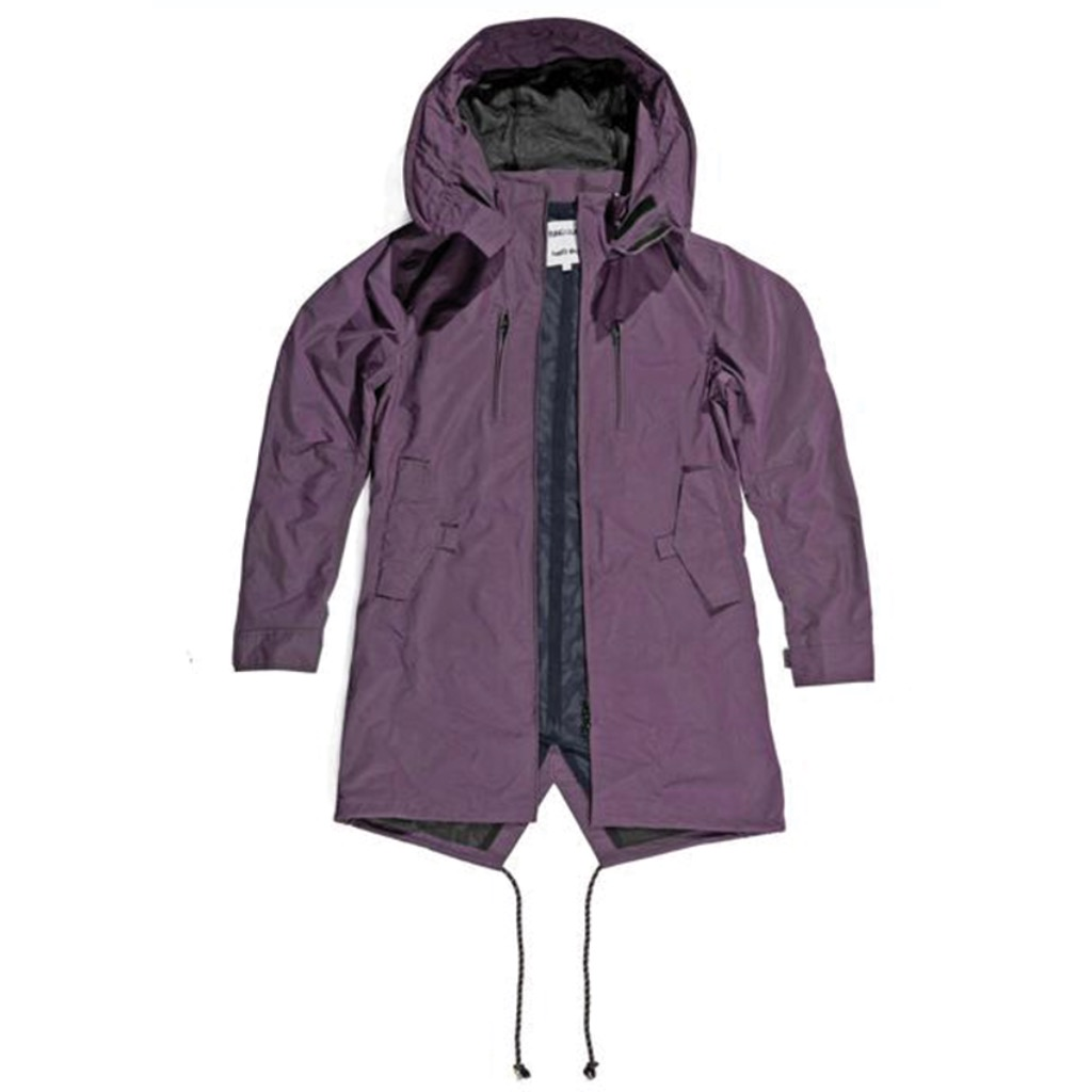 Fungolia Travel Purple Parka