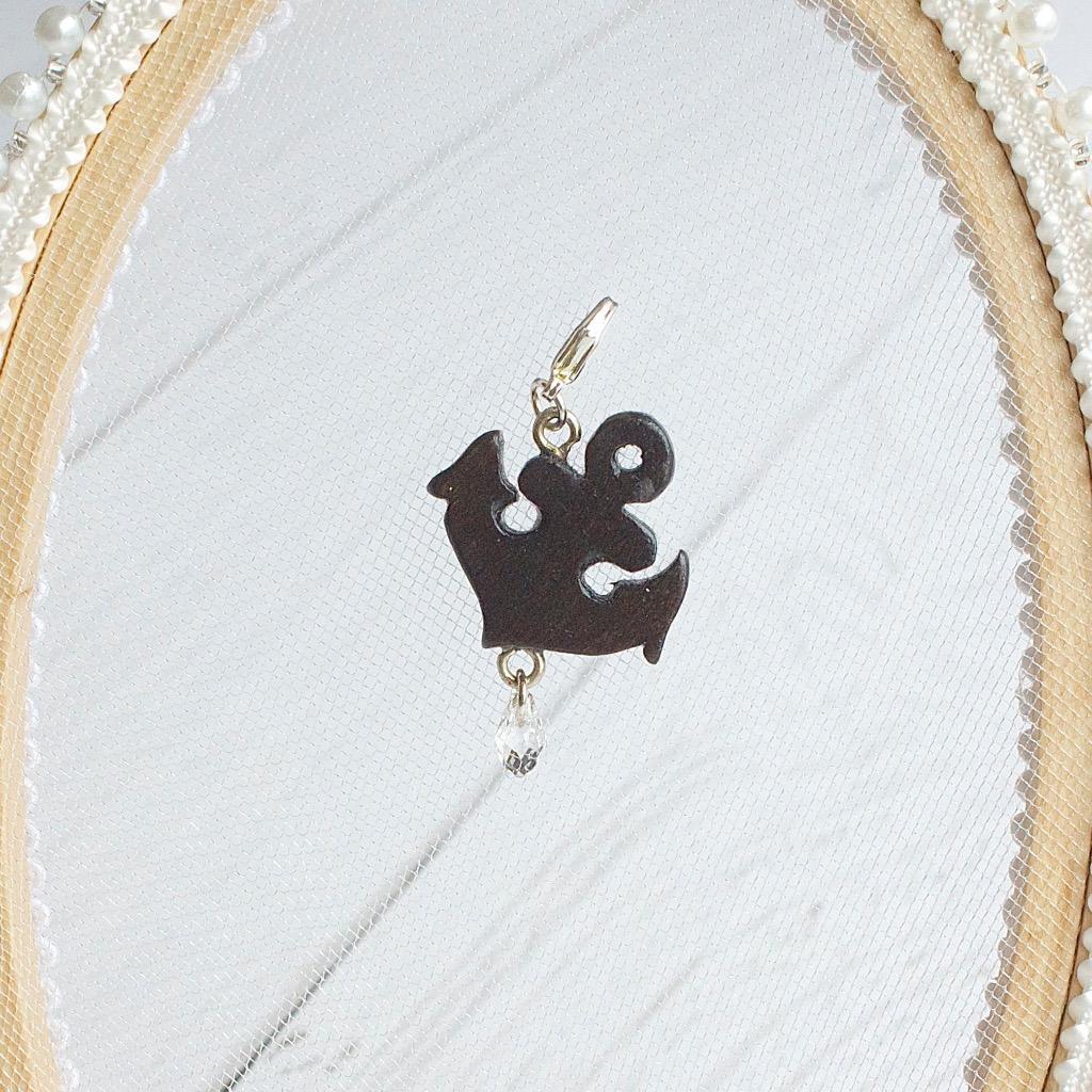 【Honeywood】木製吊飾 》》船勾 。吊飾