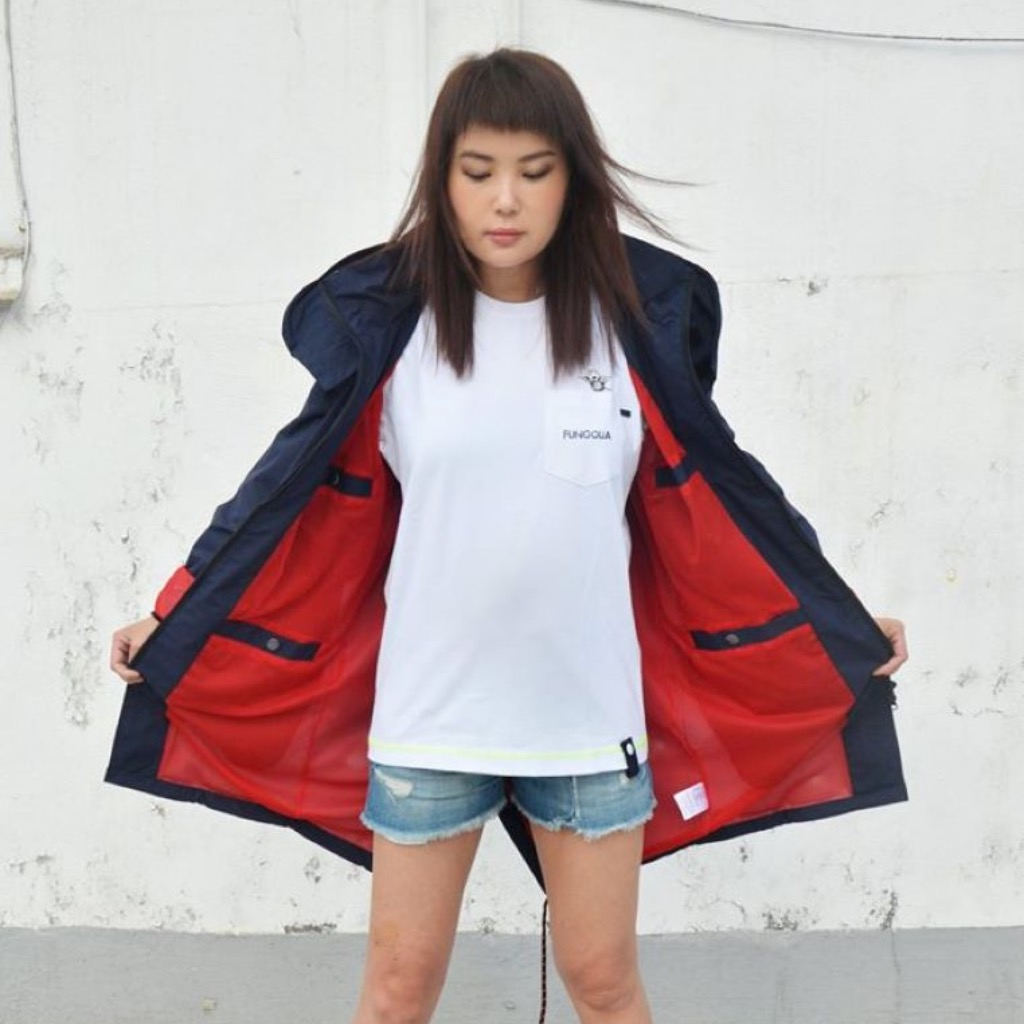 Fungolia Travel Navy Parka