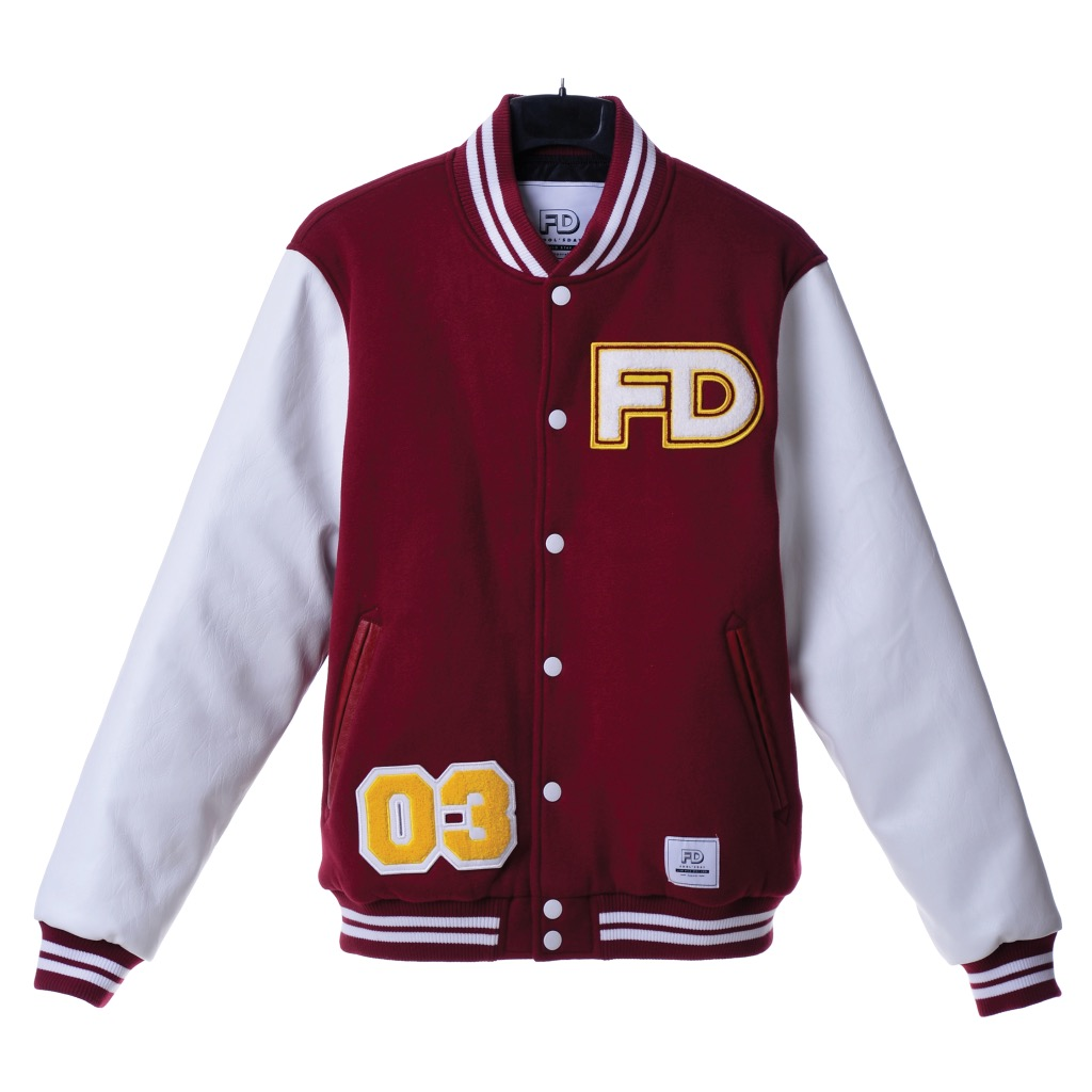 Fool's Day Baseball Jacket Red