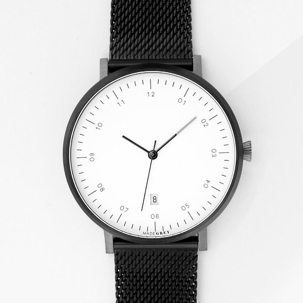 黑 x 灰色 MG001 手錶