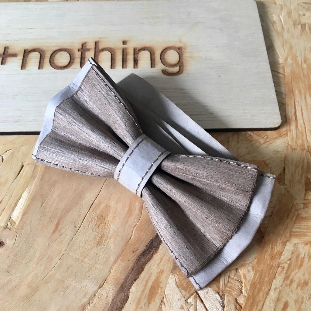 木製bow tie