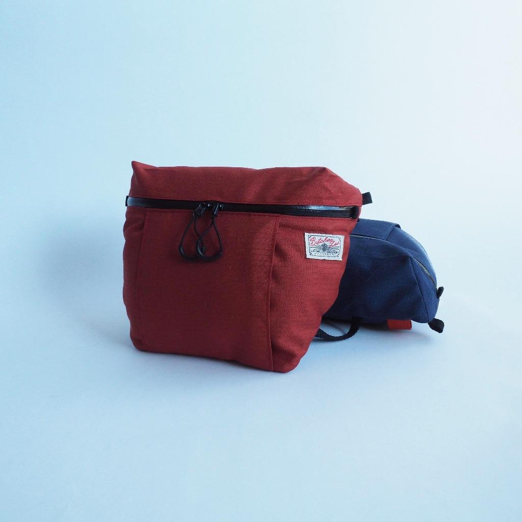 Nova Bag 輕斜背包 磚紅色