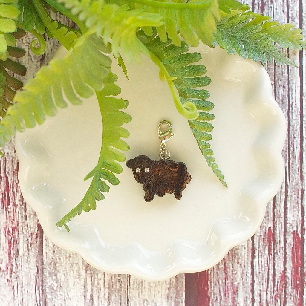 【Honeywood】木製吊飾 》》羊。吊飾