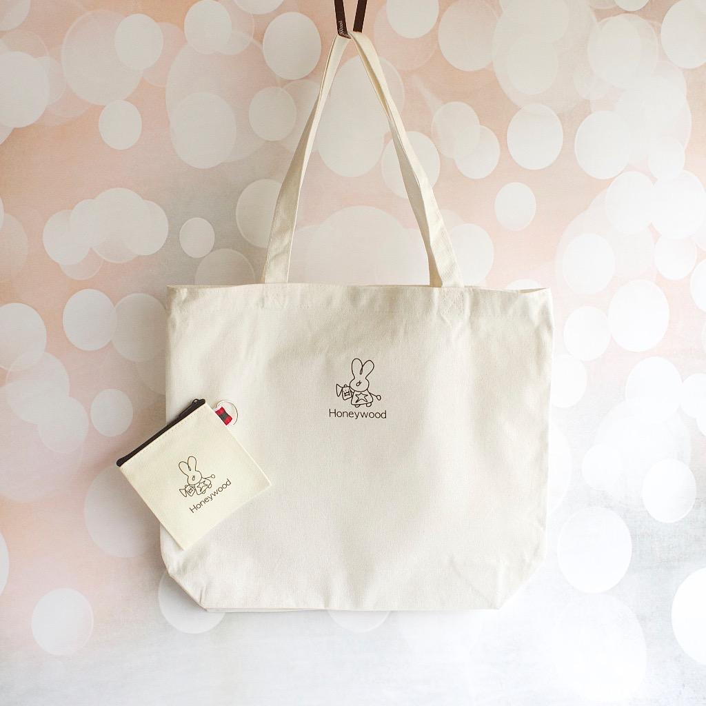 Honeywood 帆布袋 + 零錢包 禮物福袋