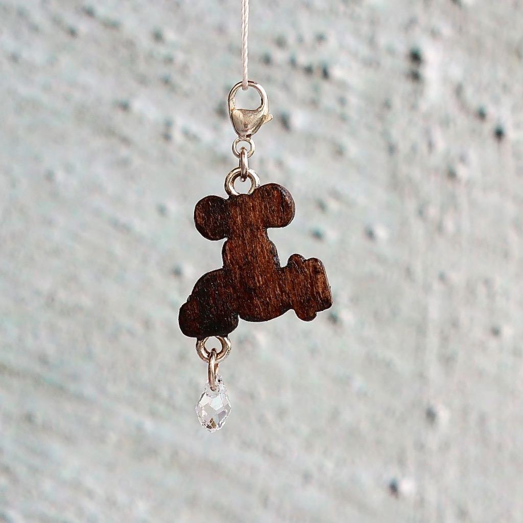 【Honeywood】木製吊飾 》》水喉 。吊飾 禮物訂製