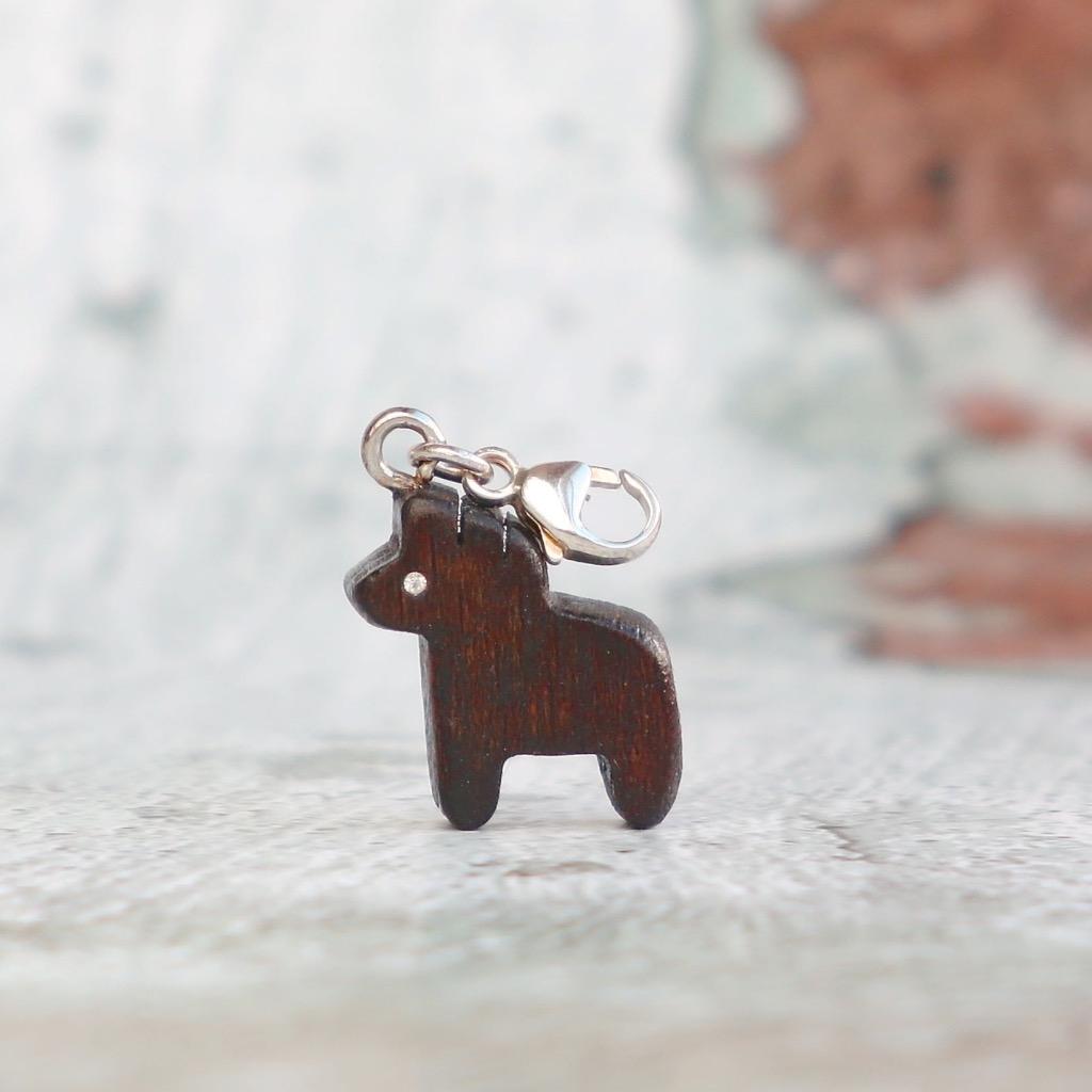 【Honeywood】手工木製吊飾 》》十二生肖 馬。吊飾 禮物訂製