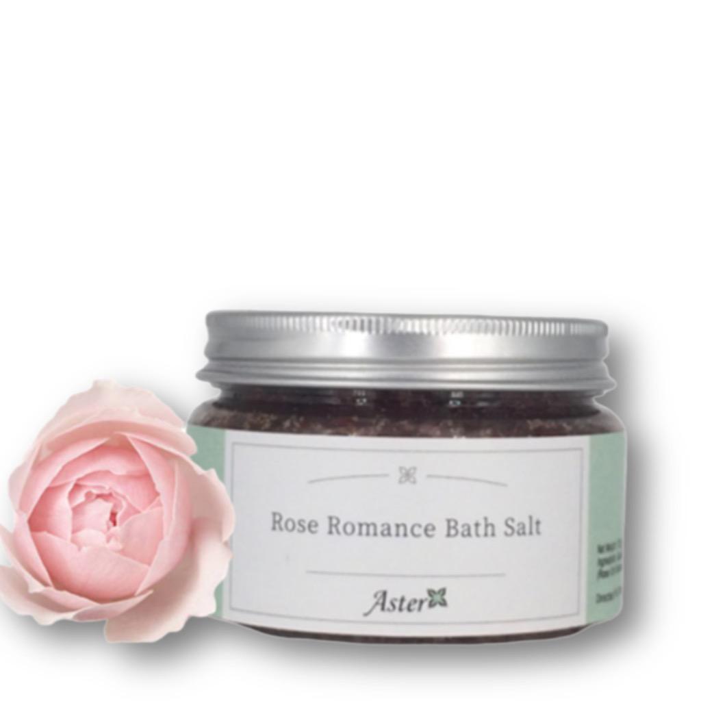 浪漫玫瑰沐浴鹽