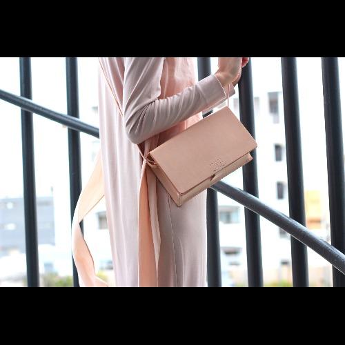 Girlfriend Boxy Bag in Nude